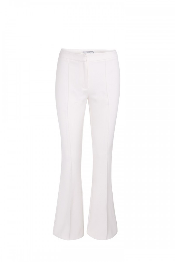 Pantalon campana blanco