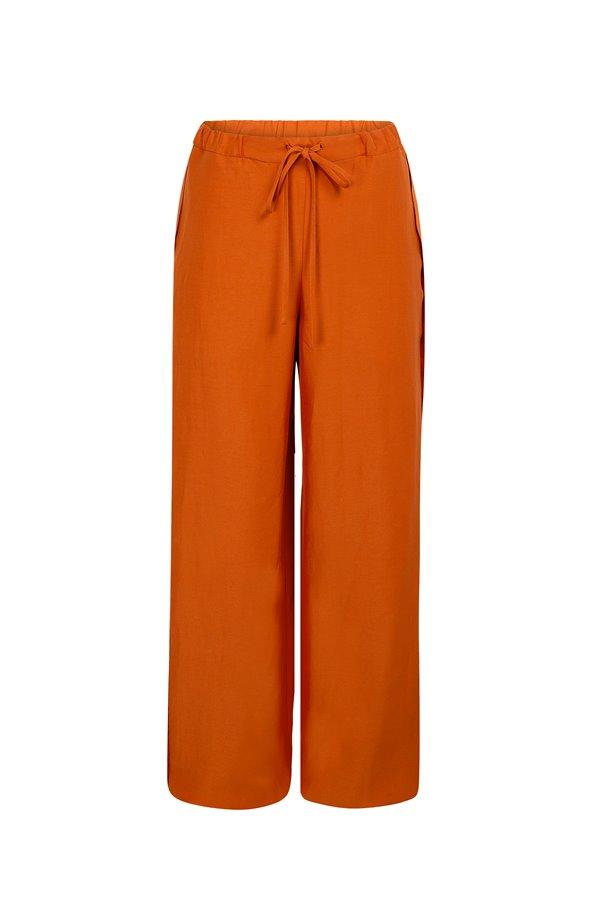 Pantalón Fluido Naranja